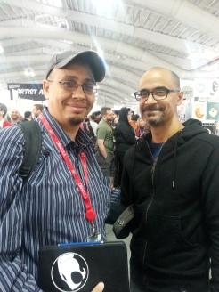 Junot Díaz at New York Comic Con